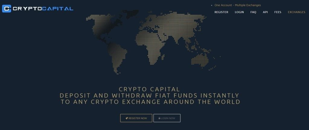 CryptoCapital banner image