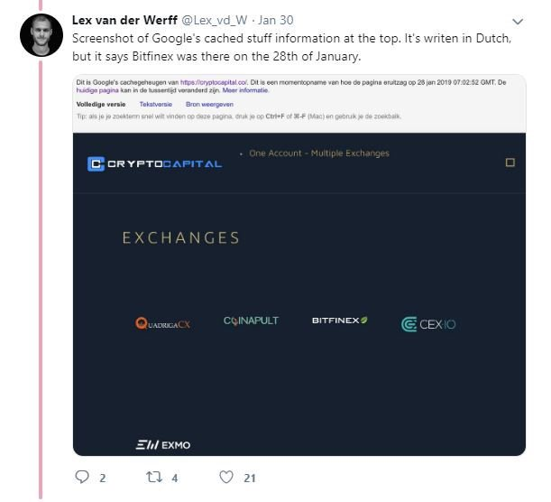 Tweet from Lex van der Werff