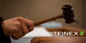 Judge bringing the gavel down on Bitfinex