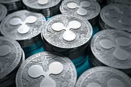 Ripple's XRP becomes the second largest cryptocurrency by market cap