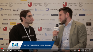 Cointelligence CEO On Yavin Interviewed by EAK TV.