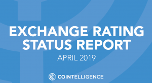 Cointelligence Exchanges Rating Status Report