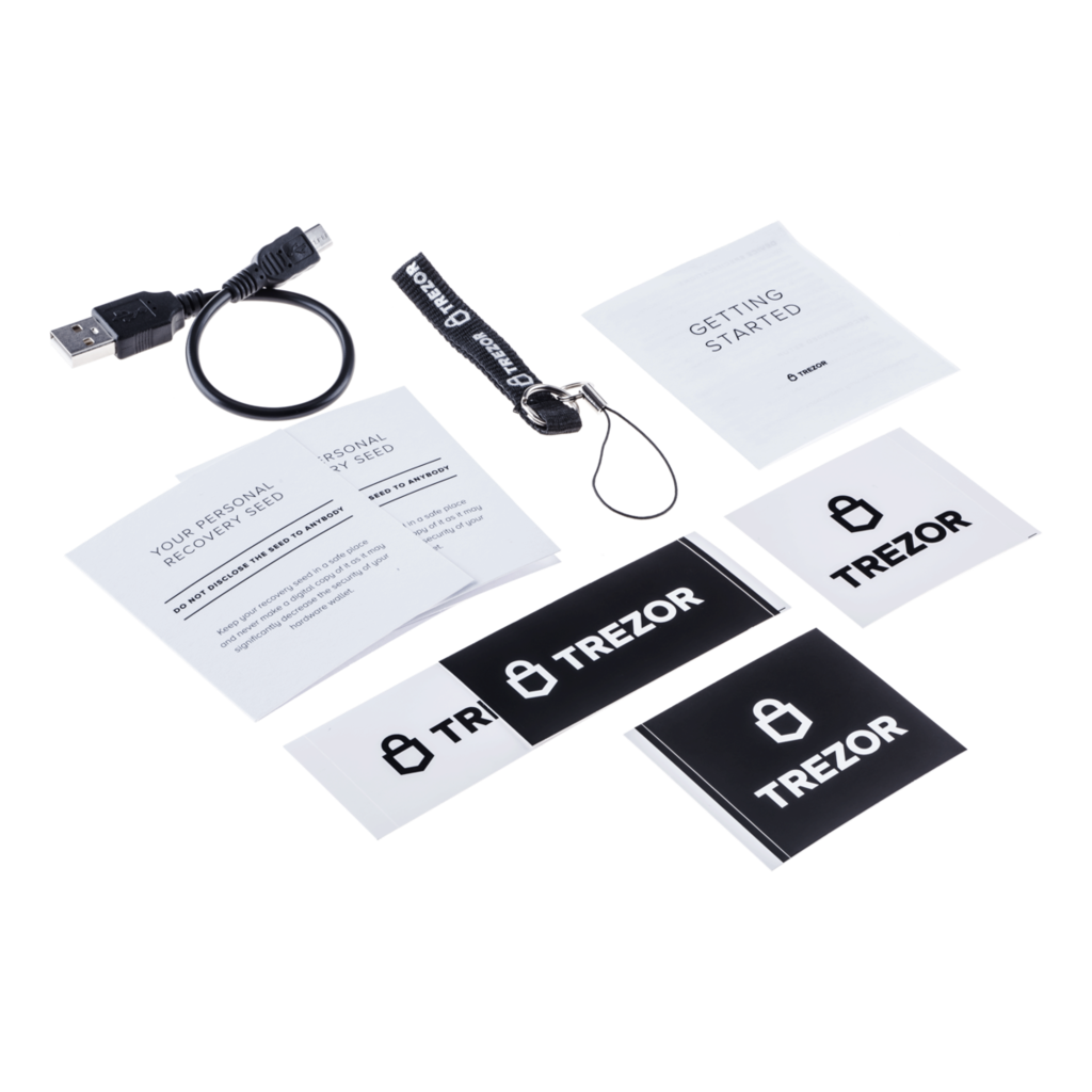 Trezor One crypto wallet