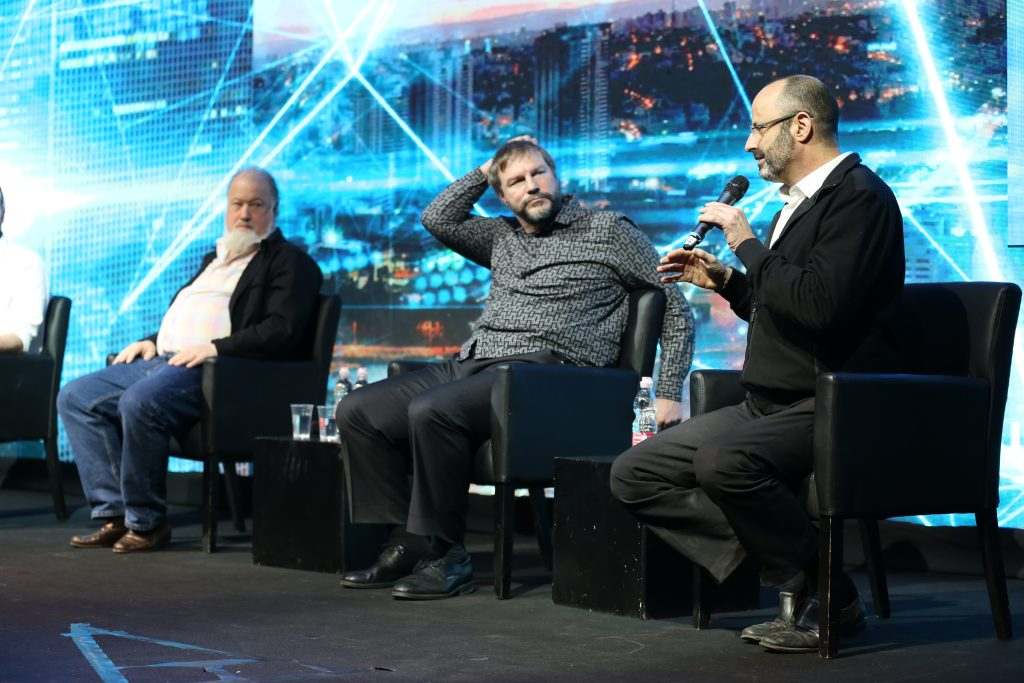 Speakers at Israeli Bitcoin Conference