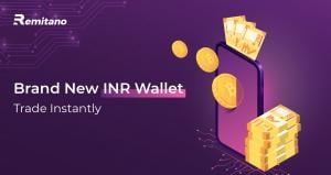 Remitano Rolls Out New INR (Fiat) Wallet for Instant Trades in Rupee