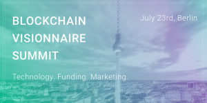 An Exciting Partnership with Blockchain Visionnaire Summit