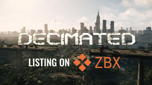 Decimated DIO token listed on ZBX exchange
