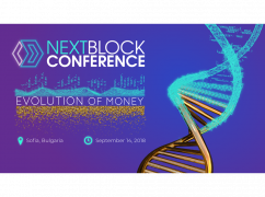 Sterlin Lujan at the International Crypto Conference in Bulgaria