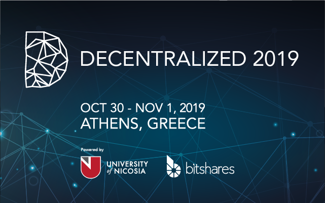 Decentralized 2019, Athens Greece